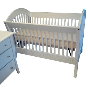 Pacifica 4 In 1 Convertible Baby Crib Made In Usa Baby