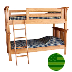Amish Pearce Bunk Bed