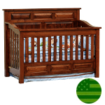 Amish 4 in 1 Convertible Baby Crib - Peyton