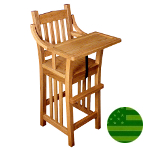 Amish Prairie Mission Baby High Chair