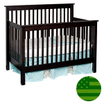 Amish 4 in 1 Convertible Baby Crib - Quincy