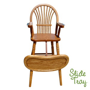 Made.in.America.Amish.Sheaf.Baby.High.Chair.Turned.Legs.Slide.Tray.Open.Solid.Wood.CP35.300.JPG
