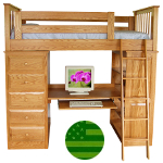 Amish Sidney Loft Bed