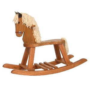 Amish Child's Rocking Horse