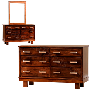 Amish Soho Baby Changer and Dresser
