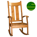 Amish Summit Rocking Chair