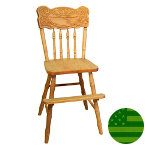 Amish Sunburst Youth Chair