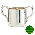 Sterling Silver Baby Cup - Double Handle
