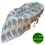 Hannah Baby Elle The Elephant Moses Basket
