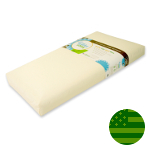 Lullaby Earth 2 Stage Super Lightweight Crib Mattress - Waterproof
