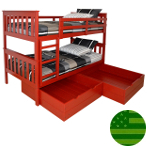 Riley Storage Bunk Bed