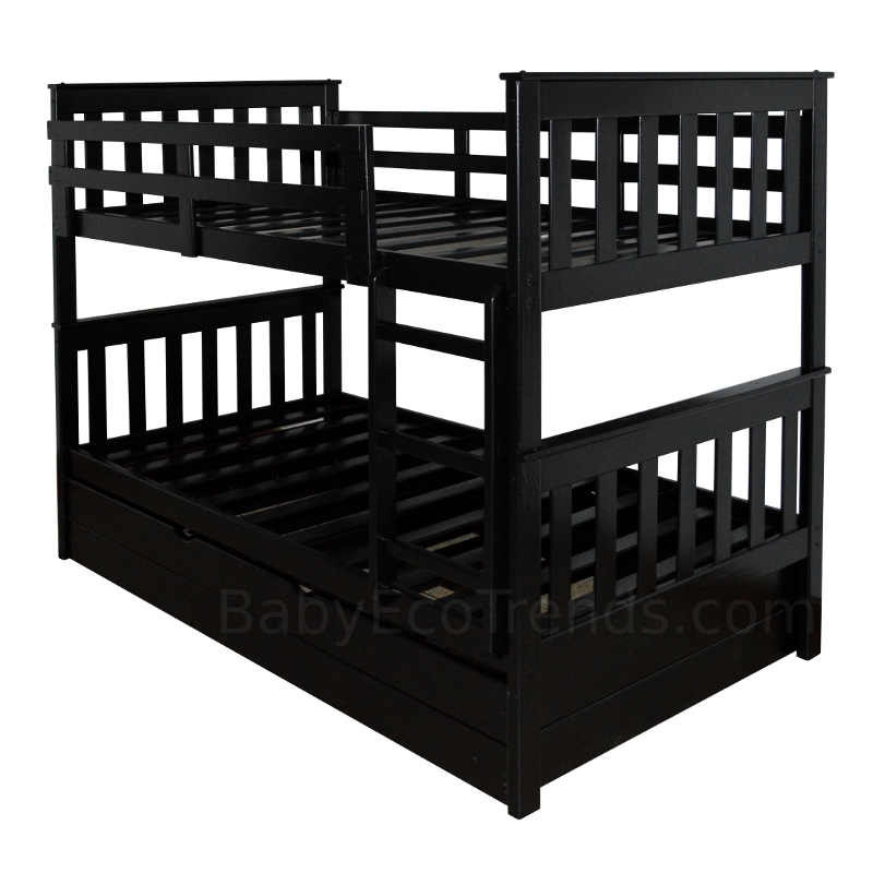 Solid Wood Bunk Beds Amish Riley Bunk Bed Usa Made