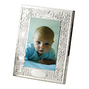 z 12-2-13 Sterling Silver Birth Record Frame - NO LONGER AVAILALBE