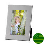 Sterling Silver Wide Border Picture Frame