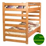 Amish Ladder Bunk Bed