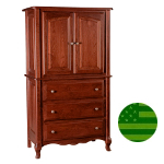 Amish French Country Armoire