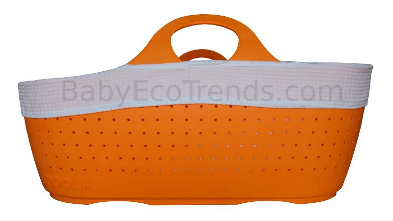 Organic Moses Basket Moba Baby Moses Basket Tangerine