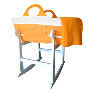 Moba.Baby.Moses.Basket.Made.in.UK.Tangerine.with.Regal.Rocker.Stand.BET300.JPG