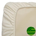 Naturepedic Organic Crib Mattress Sheets - Fitted