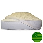 Naturepedic Organic Quilted Crib Mattress Topper - Fitted