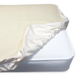Naturepedic Organic Crib Mattress Protection Pad - Fitted